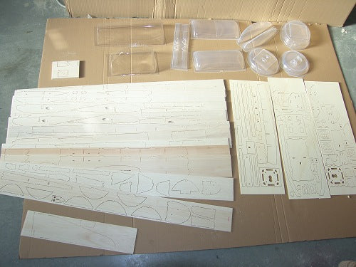 How Our Balsa Wood Kits Are Made