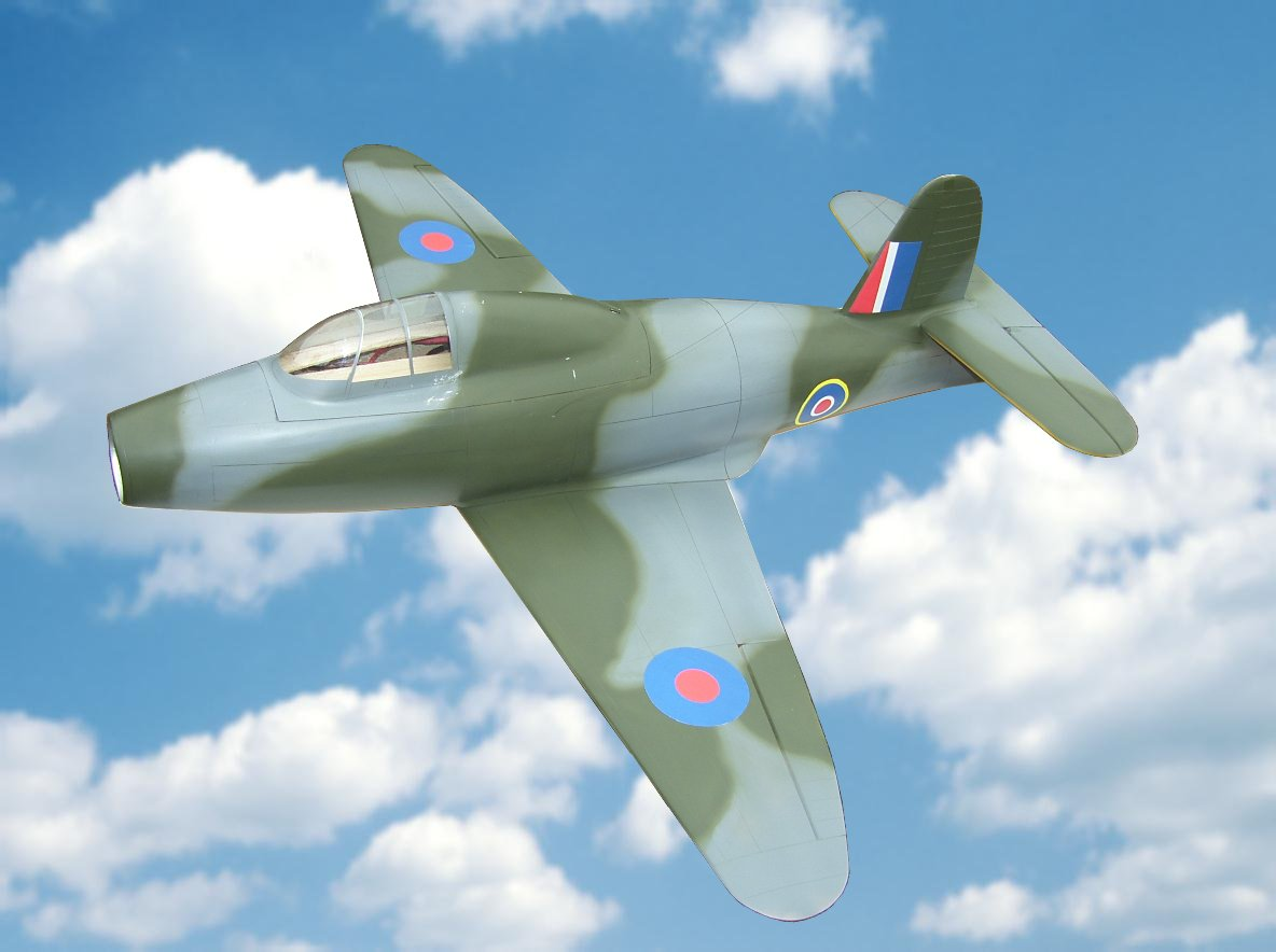 Gloster G40 Airplane Kit - RC-builder