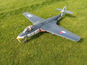 Hawker Sea Hawk - RC-builder