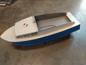 Fury Vintage Boat - RC-builder