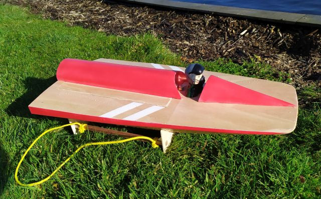 Bucktail Vintage Boat - RC-builder