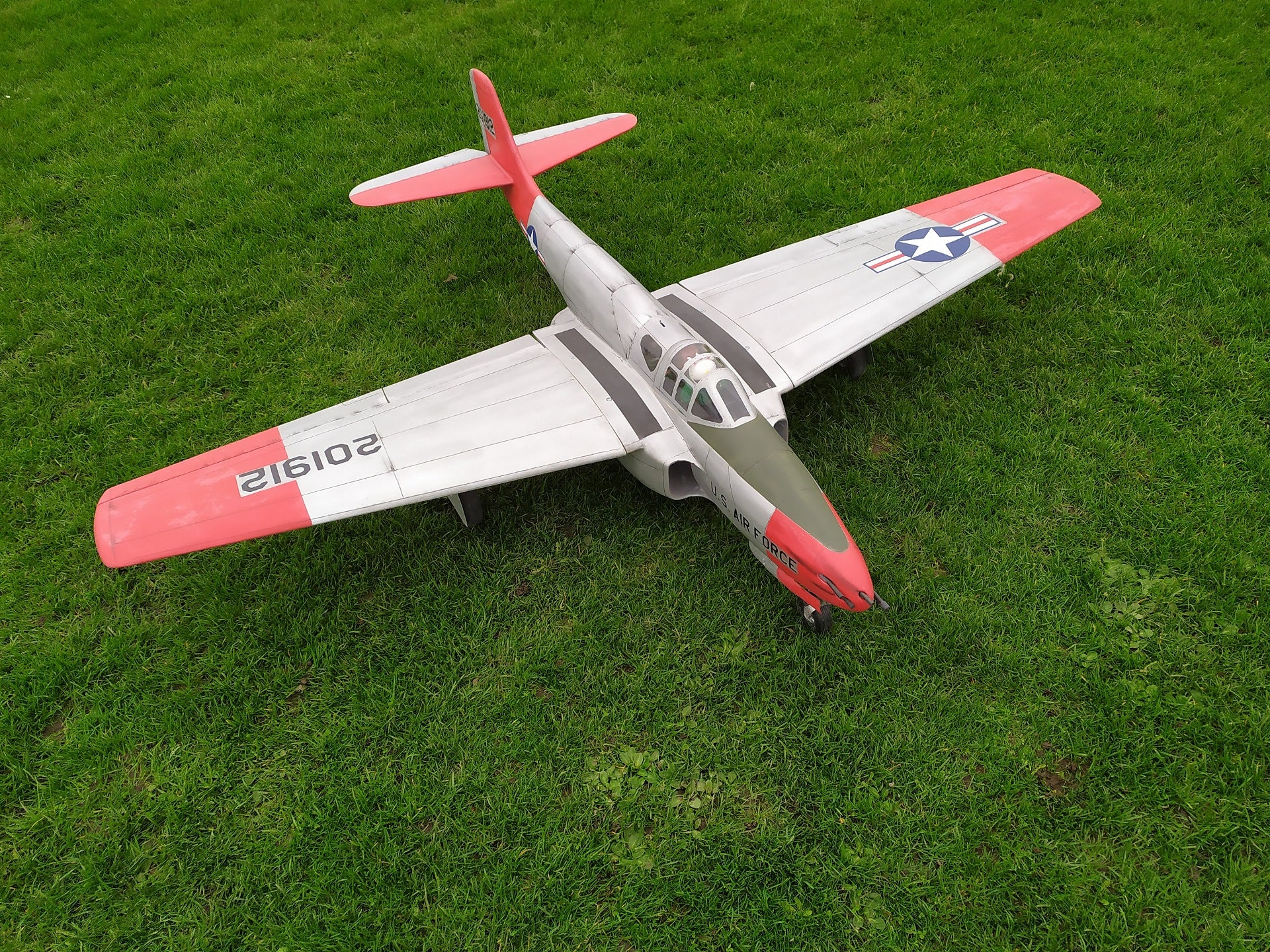 P-59 Airacomet - RC-builder
