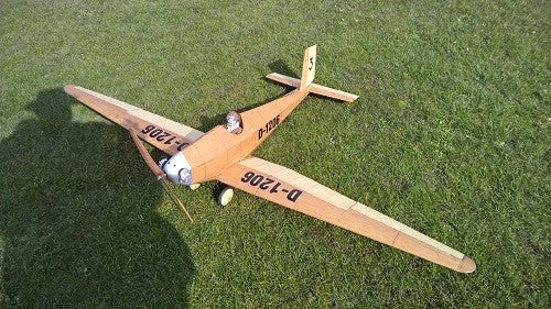 Messerschmitt M19 Airplane Kit - RC-builder