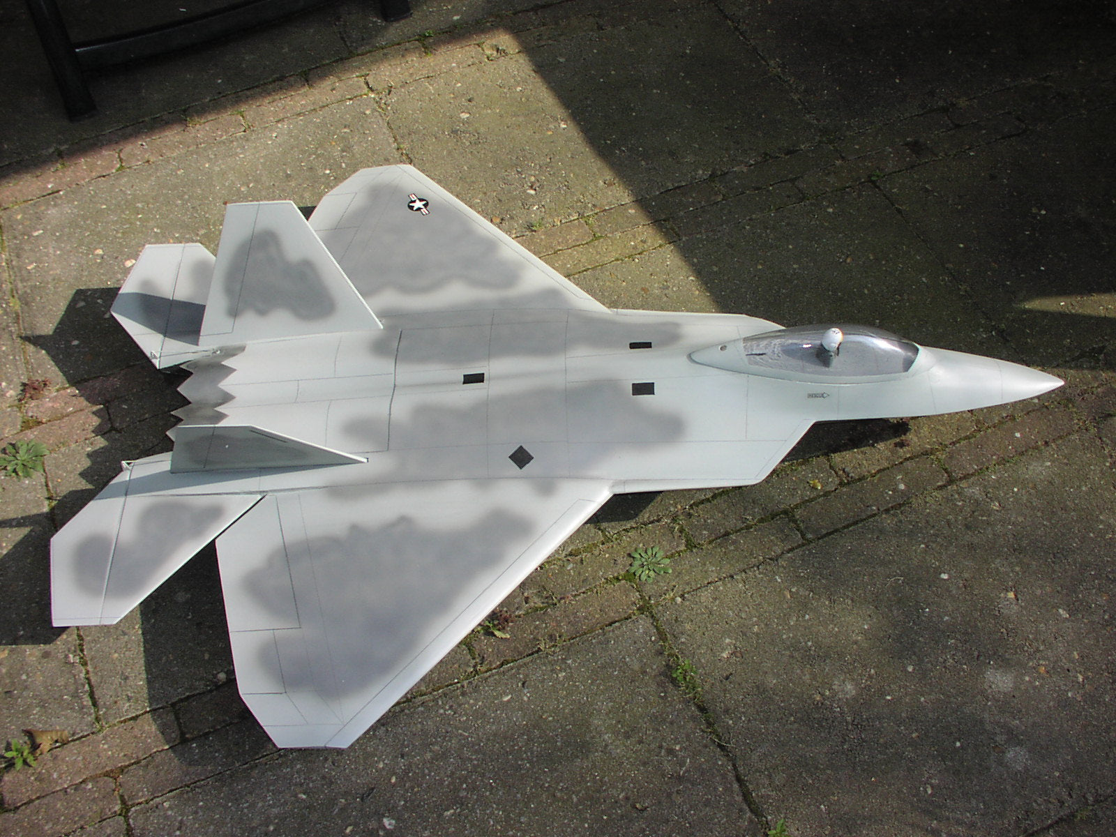 "F22 ""Raptor"" Airplane Kit - RC-builder"