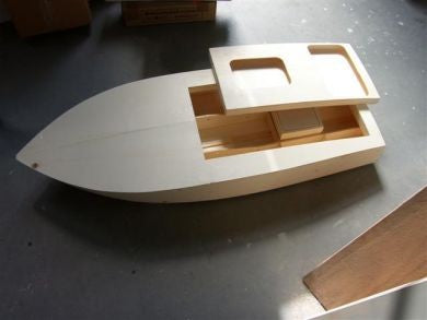 Crackerbox Boat kit - RC-builder