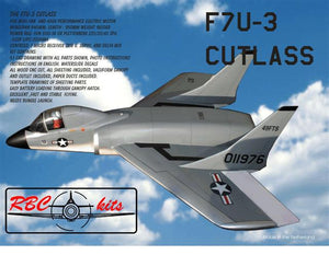 "F7u3 ""Cutlass"" Airplane Kit - RC-builder"
