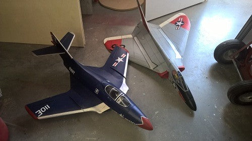 F4D-Skyray Airplane Kit - RC-builder