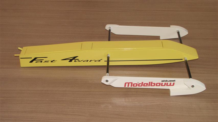 Fast4ward Rigger Boat kit - RC-builder