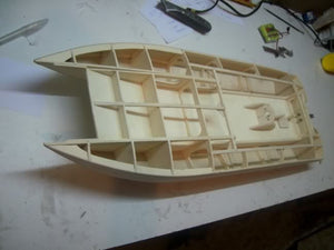 Flatcat Boat kit - RC-builder