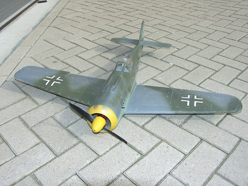 FW190 Airplane Kit - RC-builder