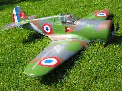 "H75 ""Hawk"" Airplane Kit - RC-builder"
