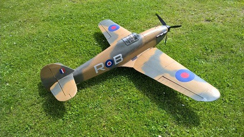 Hawker Hurricane - RC-builder