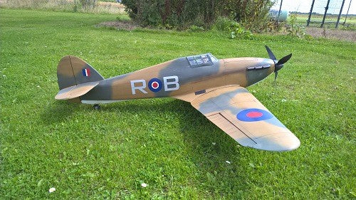 Hawker Hurricane Airplane Kit - RC-builder