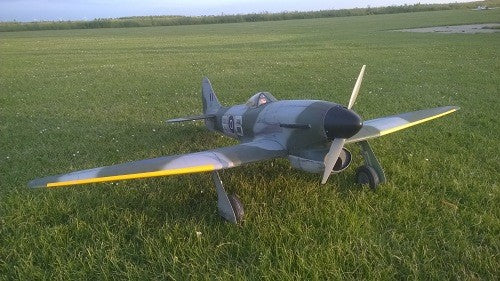 Hawker Tempest - RC-builder