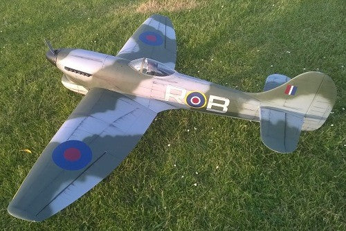 Hawker Tempest Airplane Kit - RC-builder