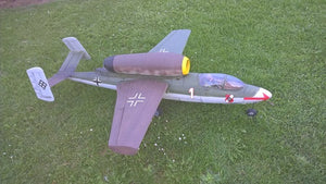 "HE162 ""Volksjager"" Airplane Kit - RC-builder"