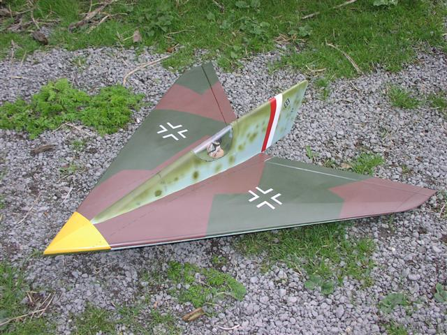 Horten 13B Airplane Kit - RC-builder