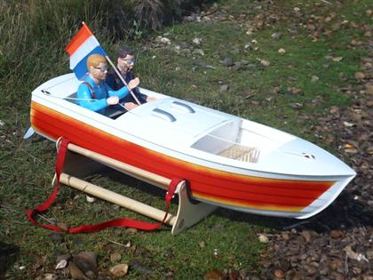 Jersey Skiff Boat kit - RC-builder