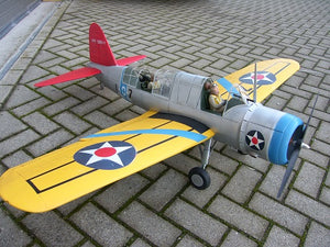 OS 2U Kingfisher Airplane Kit - RC-builder
