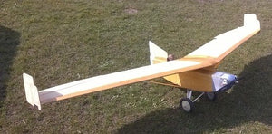 Lippisch Storch Airplane Kit - RC-builder