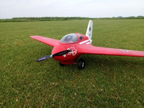 "Me163 ""Komet"" Airplane Kit - RC-builder"