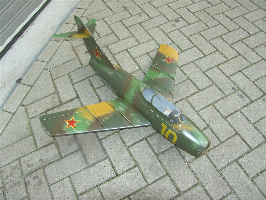 Mig15 UTI Airplane Kit - RC-builder