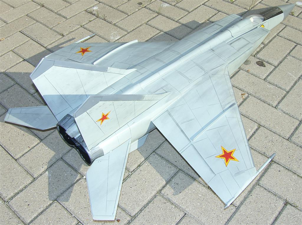 "Mig 25 ""Foxbat"" Airplane Kit - RC-builder"
