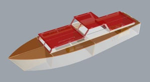 Moonglow Boat kit - RC-builder