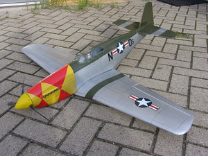 "P51 ""Mustang"" B-version - RC-builder"