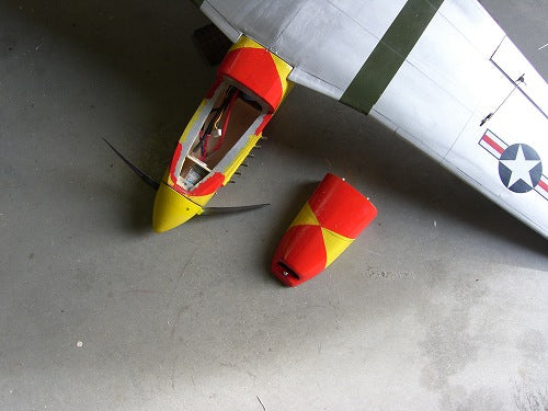"P51 ""Mustang"" B-version Airplane Kit - RC-builder"