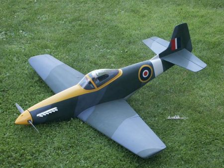 "P51 ""Mustang"" V2 Airplane Kit - RC-builder"