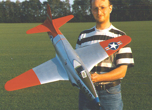 P80 Airplane Kit - RC-builder
