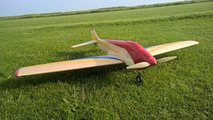 RC3-40 Retro Airplane Kit - RC-builder