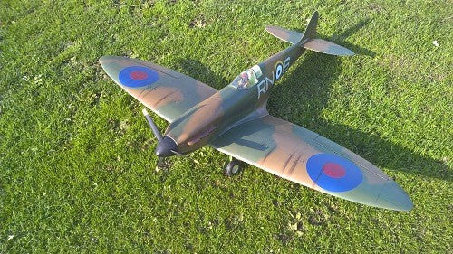 Spitfire MKI 1500mm Airplane Kit - RC-builder
