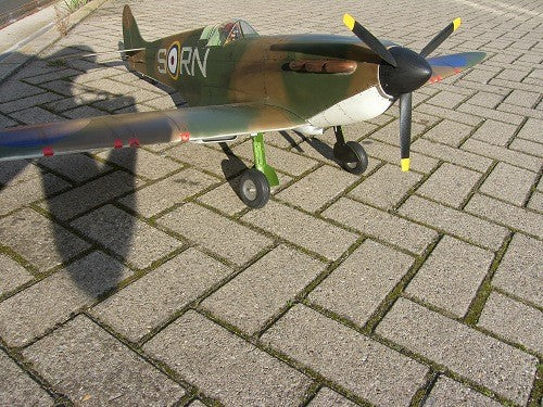 Spitfire MKI 1500mm - RC-builder