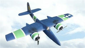 "F7F ""Tigercat"" Airplane Kit - RC-builder"