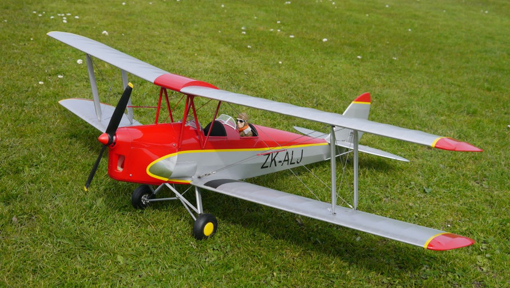 Tiger Moth Airplane Kit - RC-builder