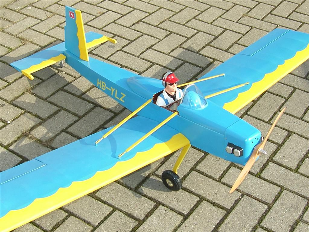 "Volksplane ""VP1"" - RC-builder"