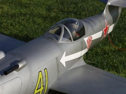 "Yak 23 ""Flora"" - RC-builder"