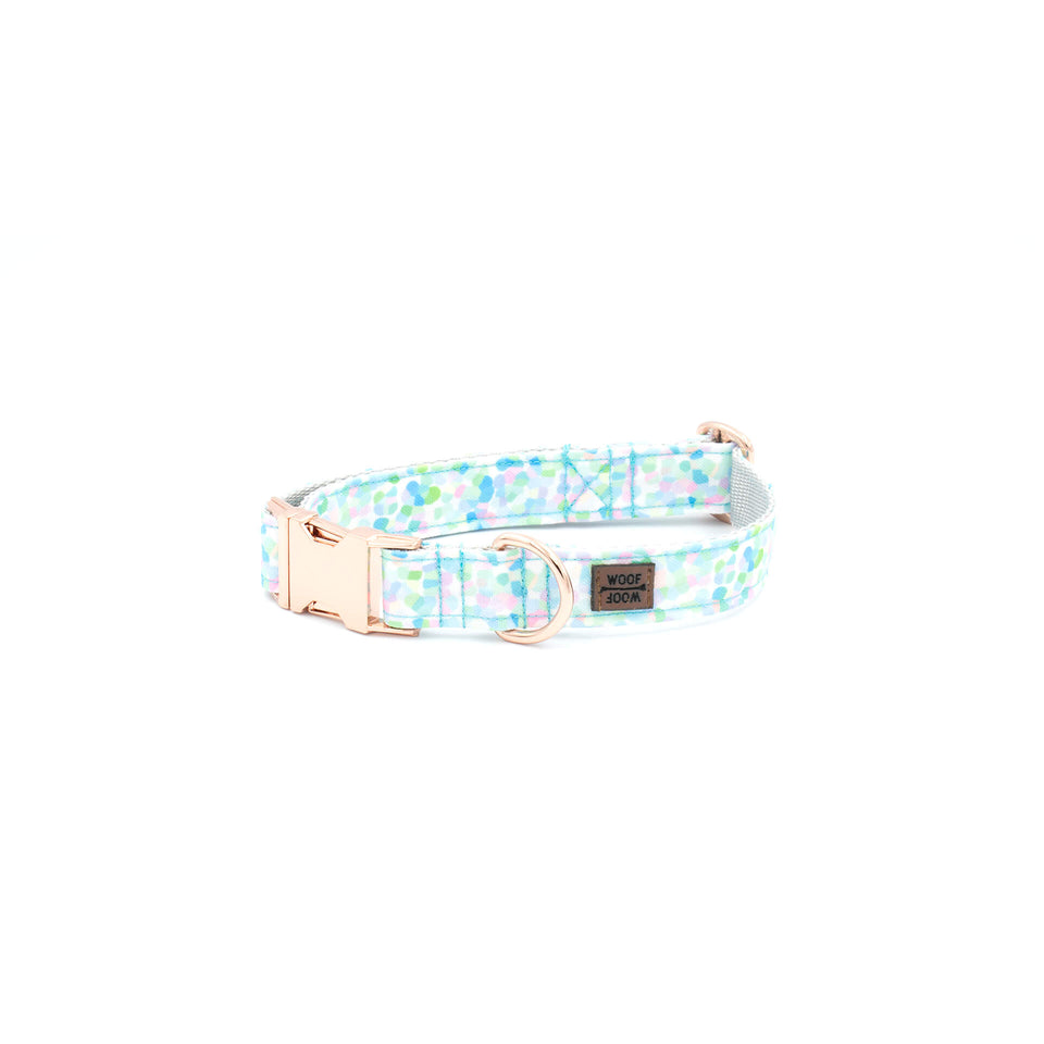 the woofwoof unicorn dog collar