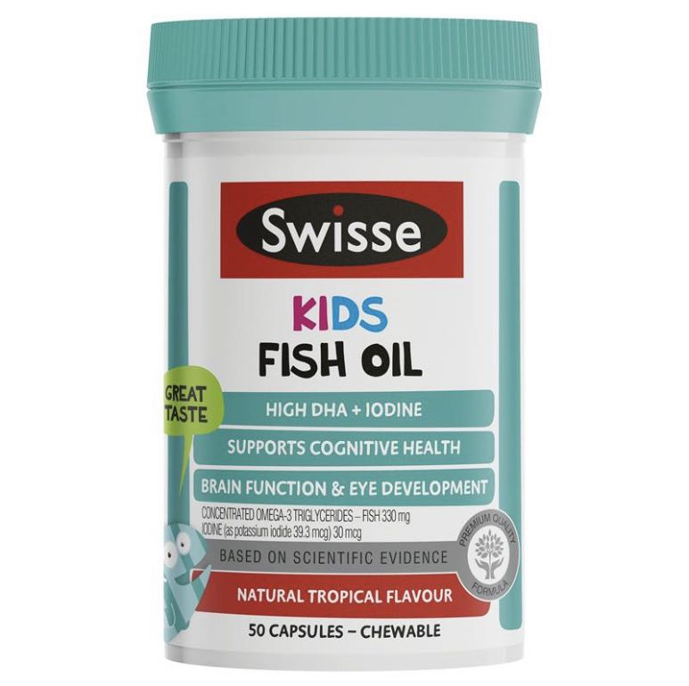 Swisse Kids Fish Oil 50 Burstlets