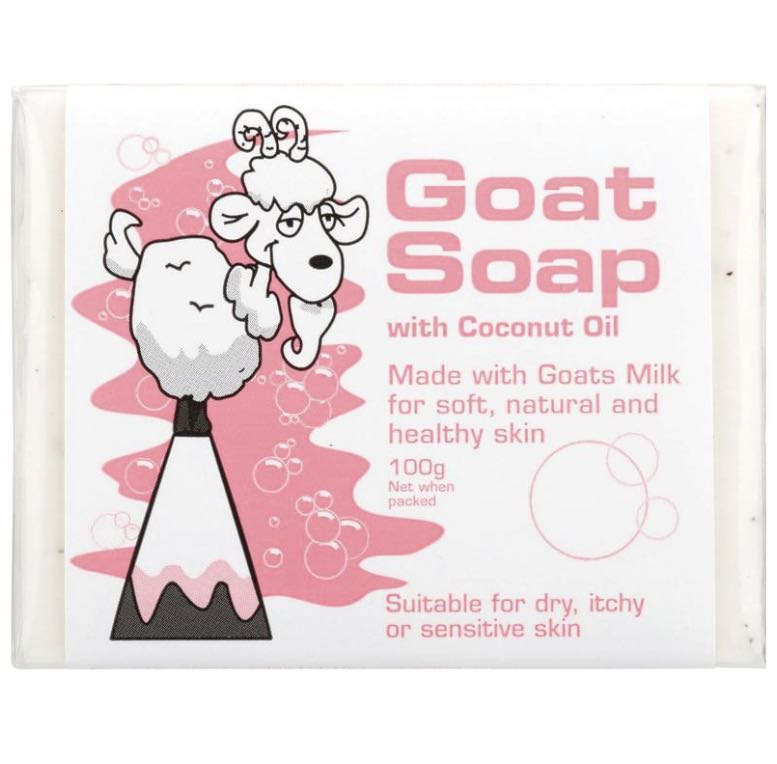 Goat Soap with Coconut Oil100g