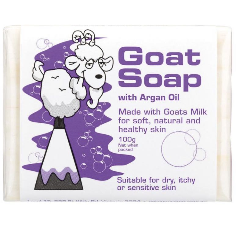 Goat Soap with Argan Oil100g