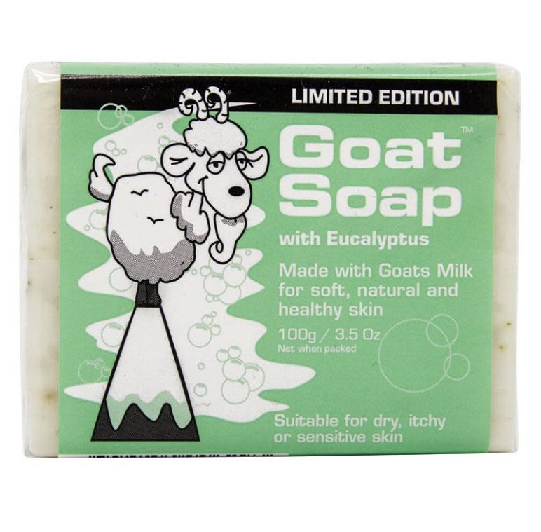 Goat Soap with Eucalyptus100g