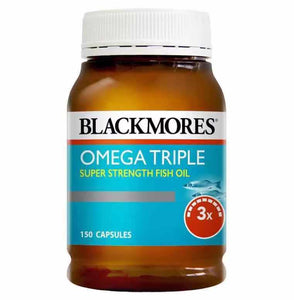 Blackmores Omega Triple Concentrated Fish Oil 澳佳寶三倍濃縮深海魚油 膠囊150粒