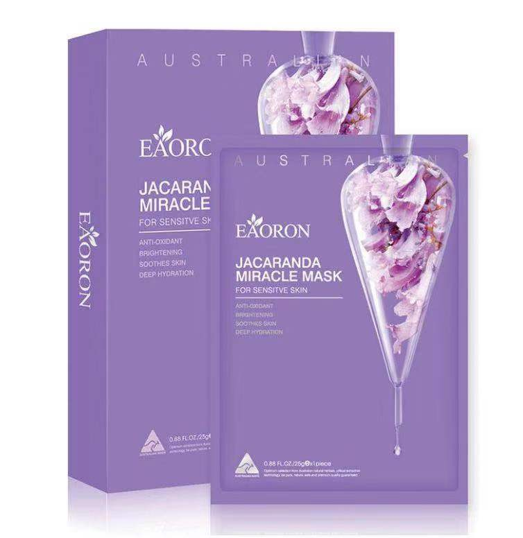 Eaoron Face Mask 25ml 5 Piece jacaranda