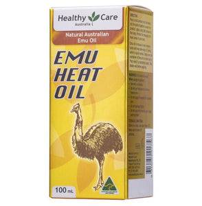 Healthy Care Emu Heat Oil 100mL
