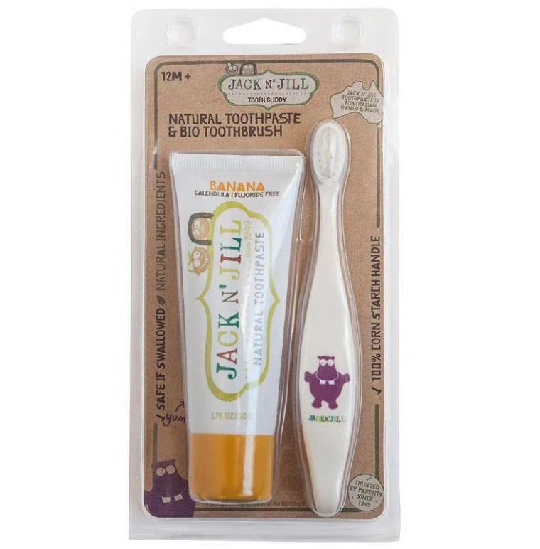 Jack N Jill Toothpaste with Brush