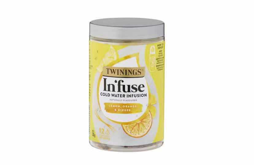 Twinings In'fuse Lemon Orange & Ginger 12 pack