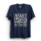 HS- BEAST MODE ACTIVATED (NAVY-WHITE)